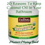 20 Reasons To  Keep Coconut Oil In Your Bathroom
