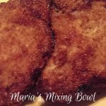 """Breaded"" Pork Chops ~ Low Carb"