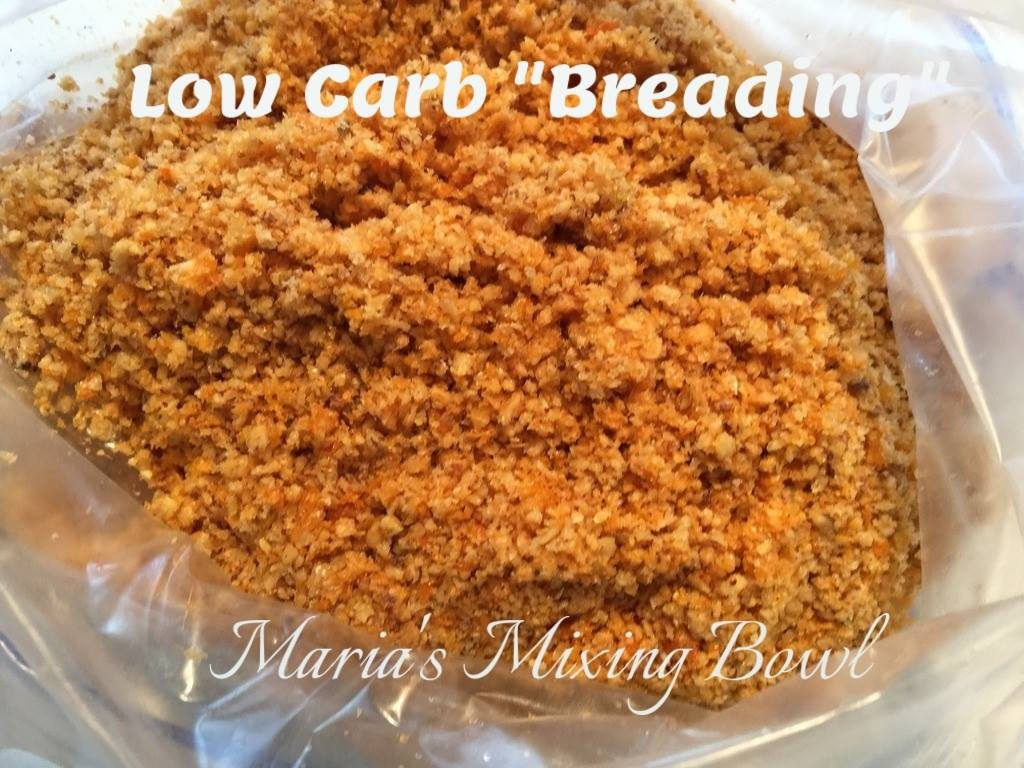 Low carb breading for Low carb fish breading