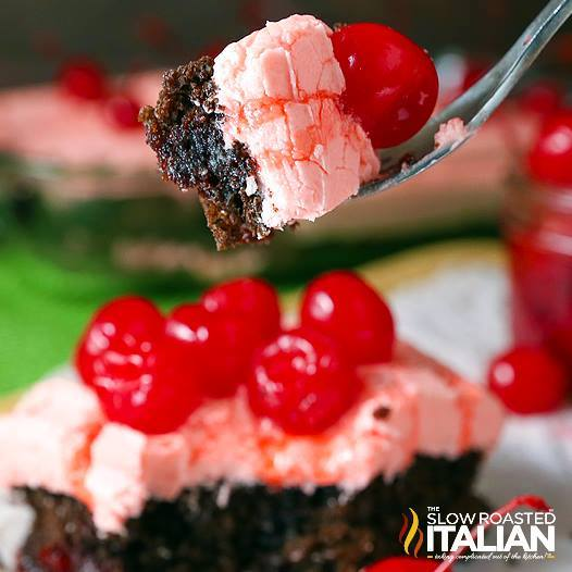 OUTRAGEOUS CHERRY DR. PEPPER CAKE