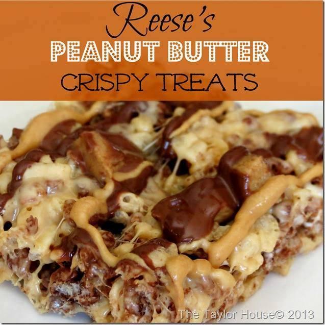 Reeses's  Peanut Butter Crispy Treats