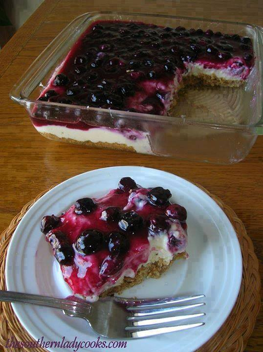 Fresh Blueberry Cheesecake