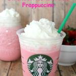 Copycat Starbucks Strawberries and Creme Frappuccino!