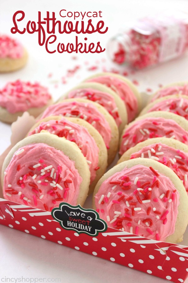CopyCat Lofthouse Sugar Cookies