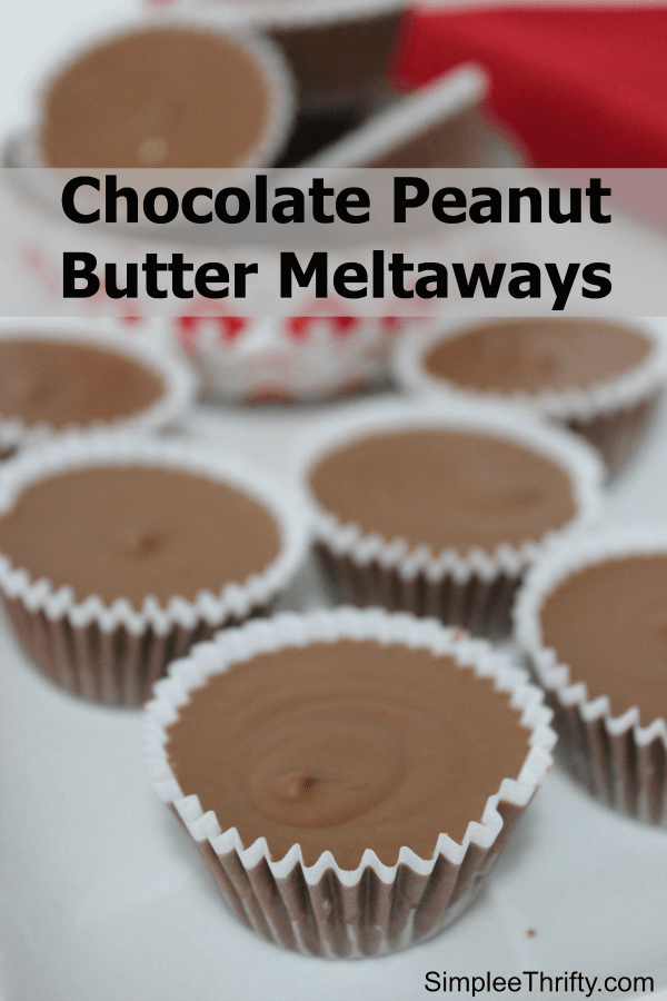 Chocolate Peanut Butter Meltaways
