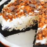 No Bake Butterfinger Cream Pie