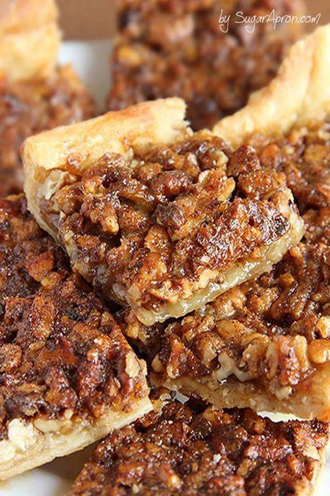 Easy Pecan Pie Bars Maria S Mixing Bowl