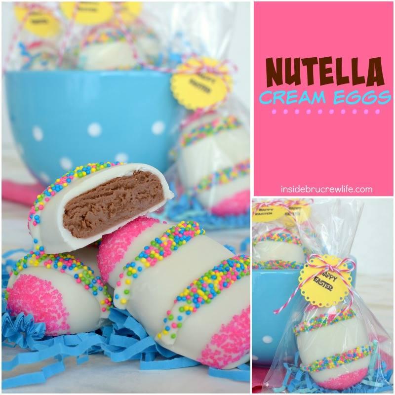 Nutella Cream Eggs