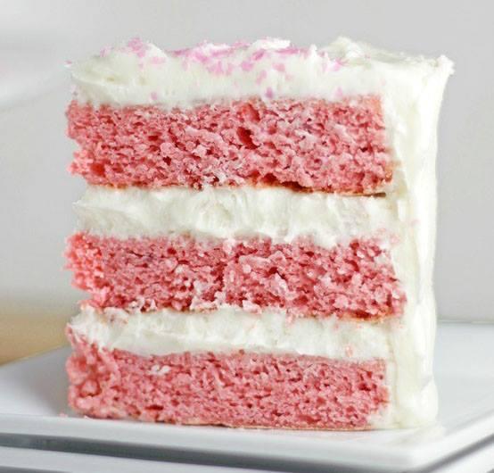 BEST STRAWBERRY CAKE EVER