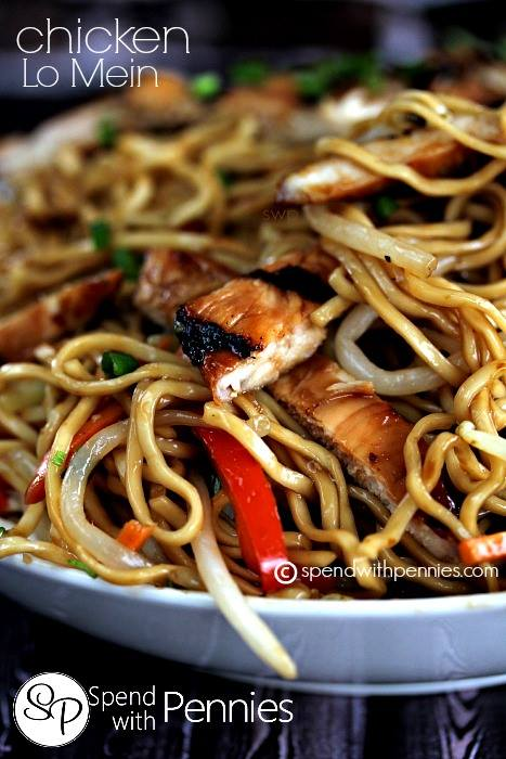 Chicken Lo Mein Maria S Mixing Bowl
