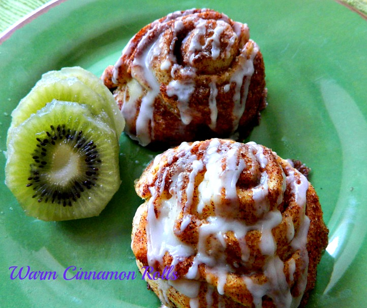 OUT OF THIS WORLD CINNAMON ROLLS