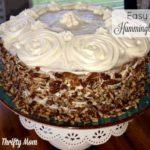 EASY CREOLE HUMMINGBIRD CAKE