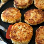 PEPPER JACK POTATO PANCAKES