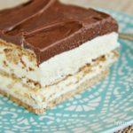 GRAHAM CRACKER ECLAIR CAKE