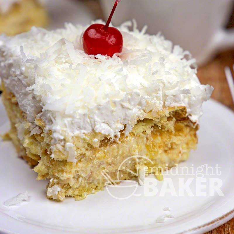 NO – BAKE ITALIAN CREAM CAKE