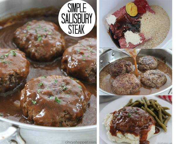 SIMPLE SALISBURY STEAKS