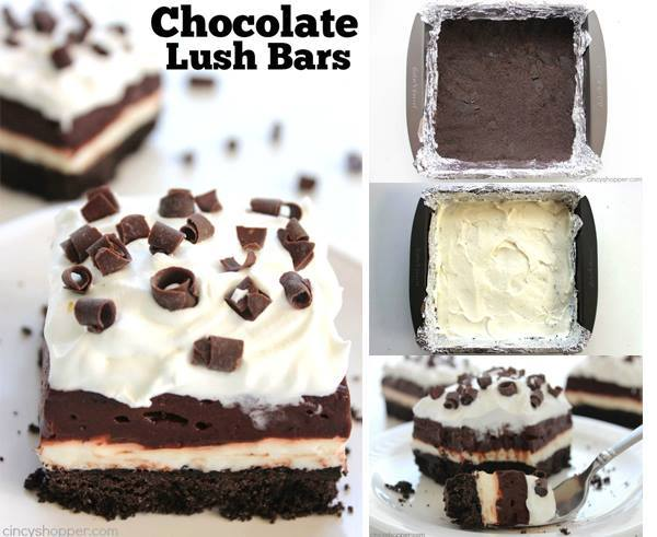 CHOCOLATE LUSH BARS