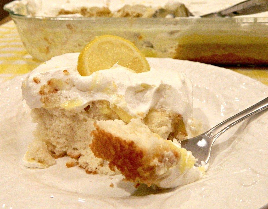 LIVELY LEMON PUDDING CAKE