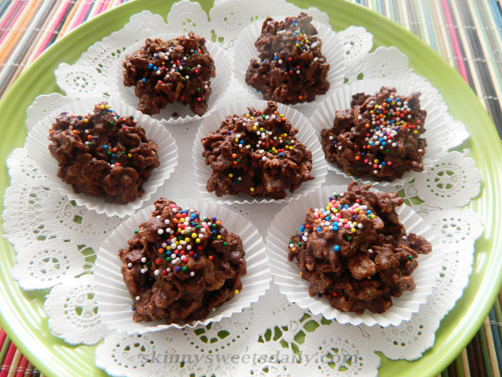 EASY CHOCOLATE CRUNCHY BITES