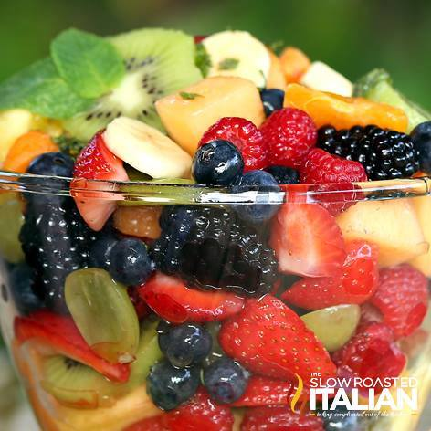 ORANGE HONEY RAINBOW FRUIT SALAD RECIPE