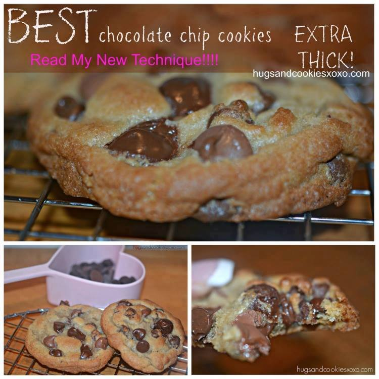 SECRET EXTRA THICK CHOCOLATE CHIP COOKIES