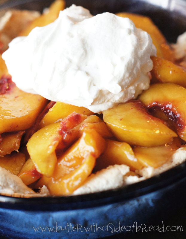 EASIEST PEACH PIE EVER PLUS SECRET CRUST