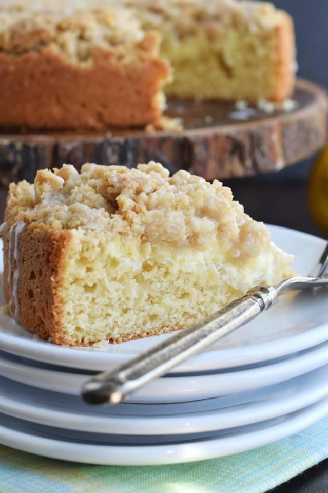 LEMON CRUMB CAKE