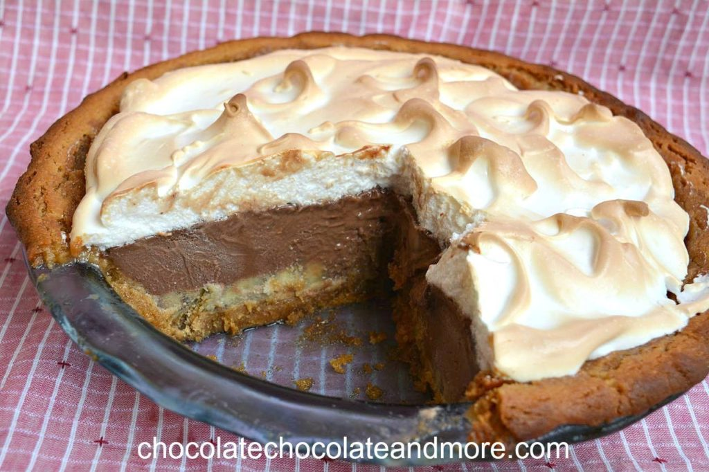 PEANUT  BUTTER BANANA PIE