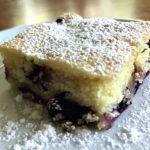 LEMON LUSH CAKE WITH FLOATING BLUEBERRIES