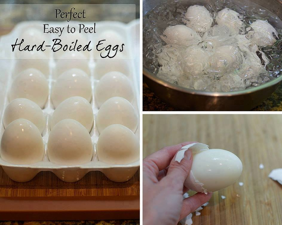 THE PERFECT EASY TO PEEL HARD BOILED EGGS