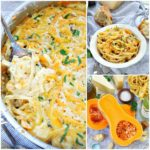 ONE POT CREAMY BUTTERNUT SQUASH PASTA
