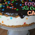 EASY ICE CREAM COOKIE CAKE