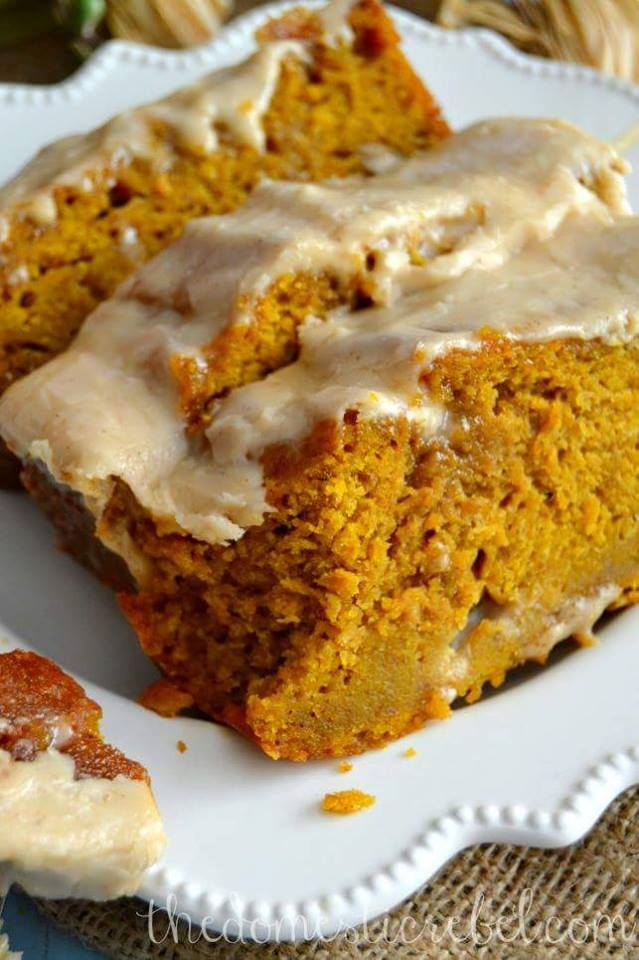 THE BEST PUMPKIN WITH BROWN BUTTER MAPLE ICING