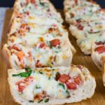 BLT CHICKEN ALFREDO FRENCH BREAD PIZZA