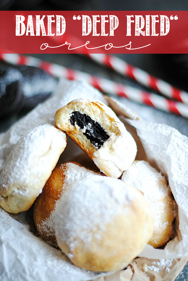 BAKED DEEP FRIED OREOS