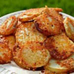 Crispy Parmesan Potatoes