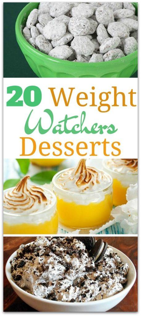 20 DELICIOUS WEIGHT WATCHERS DESSERTS