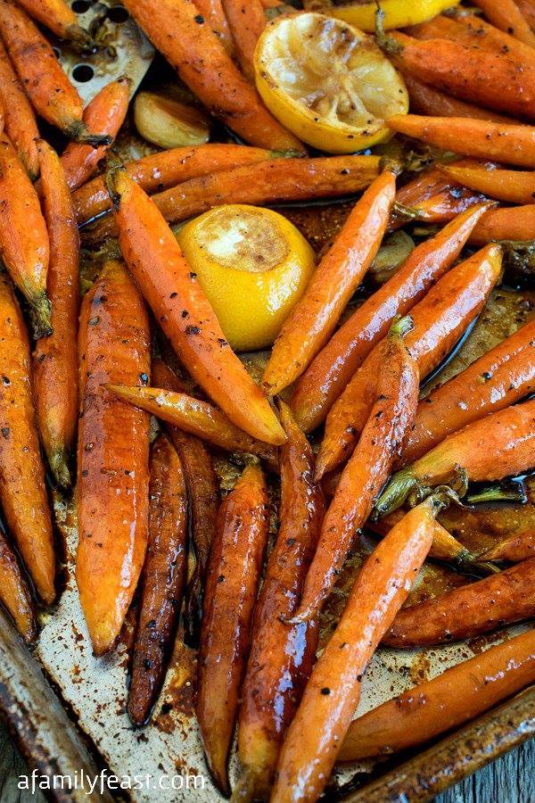 TUSCAN STYLE ROASTED CARROTS