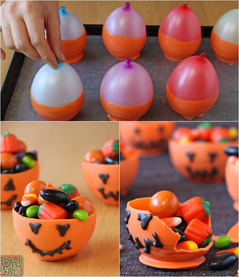 edible halloween candy bowls - maria's mixing bowl