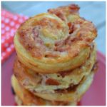 PEPPERONI BACON HAM AND MUSHROOM JACK PINWHEELS