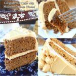 GINGERBREAD CAKE WITH MOLASSES CREAM FROSTING