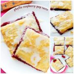 PHYLLO RASPBERRY POP TARTS WITH VANILLA GLAZE