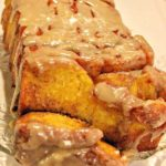 Pumpkin Pull Apart Bread with Rum Glaze