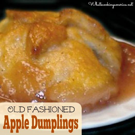 Apple Dumplings Old Fashioned