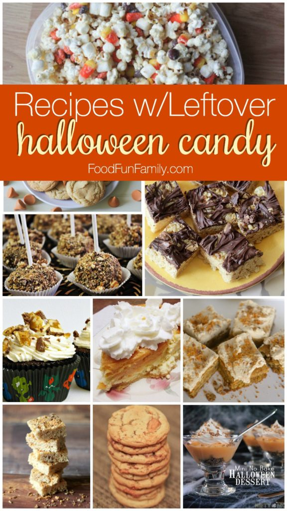 LEFTOVER HALLOWEEN CANDY RECIPES