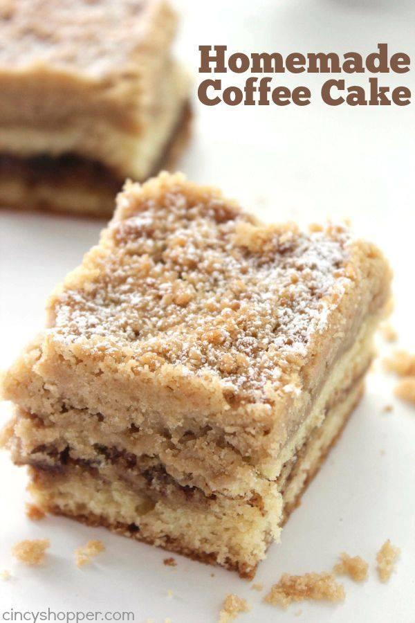 Easy Crock Pot Coffee Cake Recipe