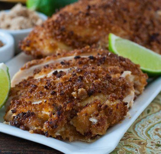 CRUNCHY SWEET AND SALTY CHICKEN