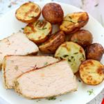 GARLIC HERB PORK AND POTATOES