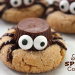 SILLY HALLOWEEN SPIDER COOKIES