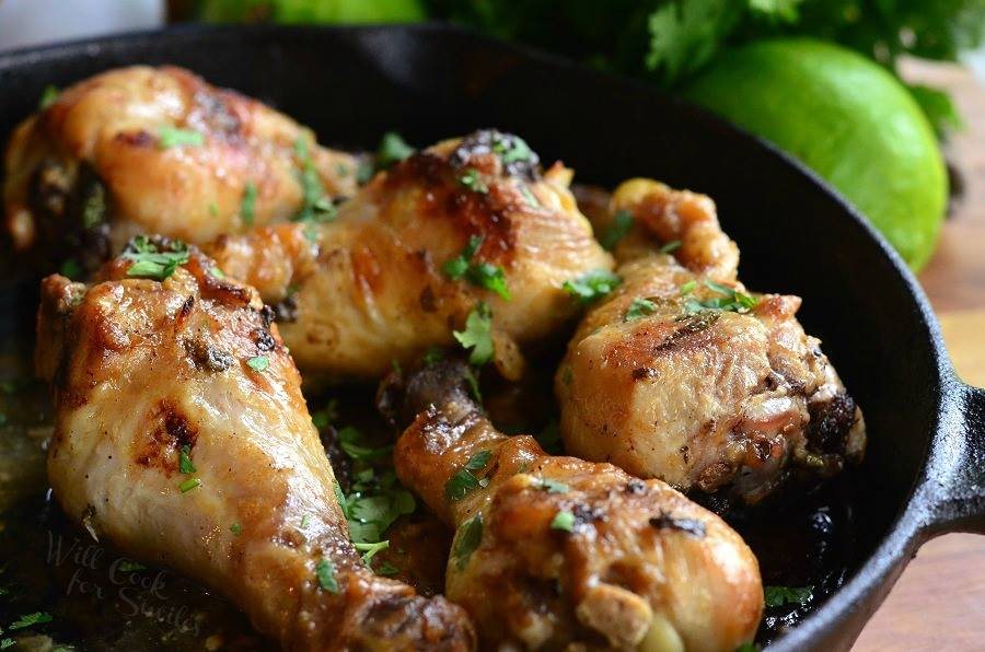 COCONUT LIME CHICKEN DRUMSTICKS
